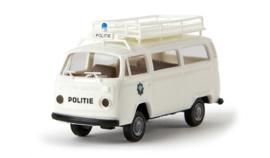 "H0 | Brekina 33132 - VW T2 ""politie"" (NL)"