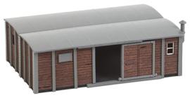 H0 | Faller 180384 - Schuur van goederenwagens