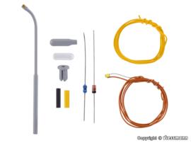 N | Viessmann 6622 - Booglamp, witte LED, kit