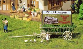 H0 | Faller 130527 - Wagen met reclameposter
