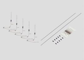 H0 | Märklin 74133 - Dwarsconstructie als bouwset (1 stuks)