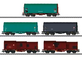 H0 | Märklin 46875 - NMBS, Set goederenwagens