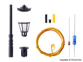 N | Viessmann 6620 - Park lamp, warm witte LED, kit