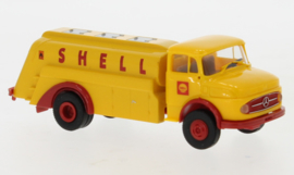 H0 | Brekina 47036 - Mercedes L 322 Tankwagen, Shell, 1960