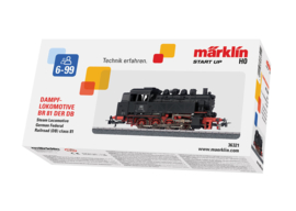 H0 | Märklin Start up 36321 - Tenderlocomotief BR 81