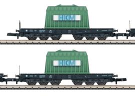 Z | Märklin 82357 - Set wagens voor zware lasten