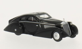 H0 | BoS-Models 87115 - Rolls Royce Phantom I Jonckheere Coupe, zwart, RHD, 1925