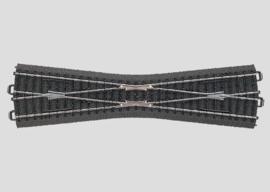 H0 | Märklin 24740 - Kruising slank 236,1 mm - 12,1Gr (C-rail)