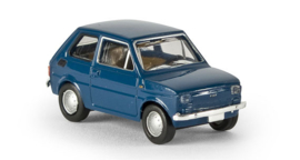 H0 | Brekina 22350 - Fiat 126, green blue.