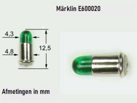 H0 | Märklin E600020.1 - Gloeilamp groen  (1 stuks)