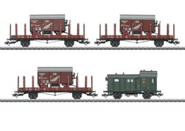 H0 | Märklin 48829 - DRG, Set goederenwagens