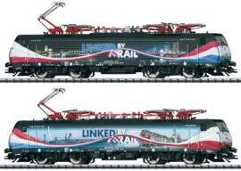 "H0 | Trix 22862 - ERS BR 189 213 ""Linked by Rail"" (DC sound)"