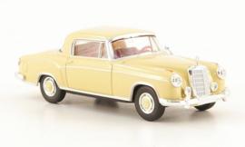 H0 | Brekina Starmada 13501 - Mercedes 220 S Coupe (W180 II), beige, zonder omkarton