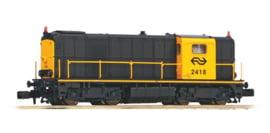N | Piko 40424 - NS, Diesellocomotief 2418