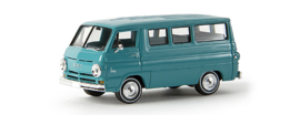H0 | Brekina 34300 - Dodge A-100 Bus, sea blue.