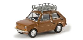 H0 | Brekina 22361 - Polski-Fiat 126p, clay brown.