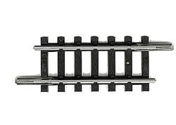 N | Minitrix 14909 - Rechte rail lengte 33,6 mm.
