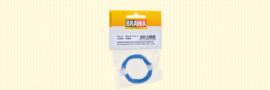 Brawa 32405 - Flexibel Decoderdraad, 0,05 mm², blauw