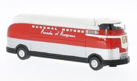 H0 | BoS-Models 87265 - GM Futurliner, red/white, GM Parade of Progress, 1953
