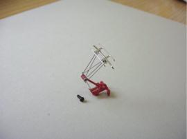 Piko 56156 - Stroomafnemer voor Hobby-locs (rood)