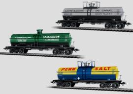 H0 | Märklin 45580 - Set ketelwagens.