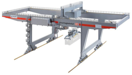 H0 | Faller 120290 - Container bridge-crane