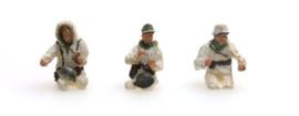 H0 | Artitec 387.101 - Bemanning Kübelwagen in winteruniform, 3 figuren