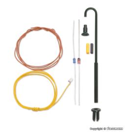 N | Viessmann 6624 - Booglamp, witte LED, kit