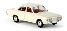 H0   Brekina 19400 - Ford 17m (P7b), creamy white.