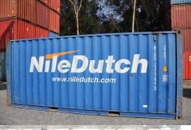 H0 | PT Trains 820013 -  Container 20´DV NILE DUTCH (NIDU2327863)