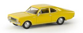 H0 | Brekina 20652 - Opel Rekord C Coupé , citrus yellow