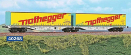 H0 | ACME 40268 -TX Logistik, Containerwagen Sggmrss '90