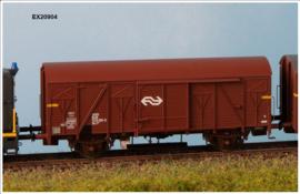 H0   Exact Train EX20904 - NS, Gs-t 1430 Van G&L met bruine luchtroosters