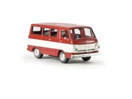 "H0 | Brekina 34306 - Dodge A 100 Bus ""Custom Sport""."