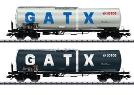 H0 | Trix 24213 - Set ketelwagens GATX NL