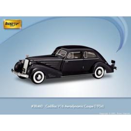 H0 | Ricko 38460 - Cadillac V16 Aerodynamic Coupe, black, 1934