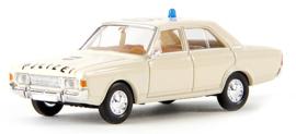 "H0   Brekina 19403 - Ford 17m (P7b) ""Polizei NRW""."