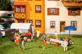H0 | Faller 180619 - Rommelmarkt Set 2