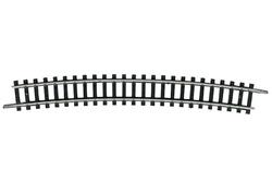 N | Minitrix 14918 - Gebogen rail R5, 15°