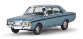 H0   Brekina 19461 - Ford RS (P7b), ice blue.