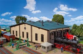 H0 | Faller 120277 - Ronde locomotiefloods met aandrijving