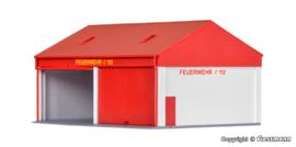 H0 | Kibri 38542 - Kleine brandweergarage