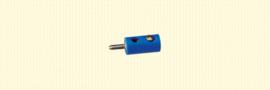 Brawa 3055 - stekker Ø 2.5mm blauw (10 stuks)