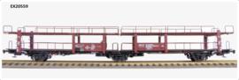 H0 | Exact Train EX20559 - NS Lacs 3-axle car transport wagon
