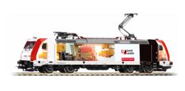 H0   Piko 59054 - Kombiverkehr, Elektrische locomotief BR 185.2 (AC digitaal)