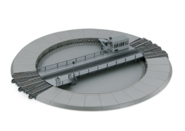 H0   Trix 66861 - C-rail draaischijf