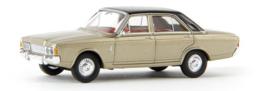 H0   Brekina 19442 - Ford 26m, gold.