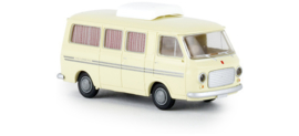 "H0 | Brekina 34407 - Fiat 238 Camper ""Weinsberg"", light ivory."