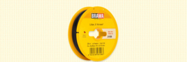Brawa 3158 - Draad, 0,14 mm², 25mtr, zwart