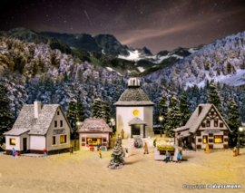 N | Vollmer 47613 - Christmas village with lighting
